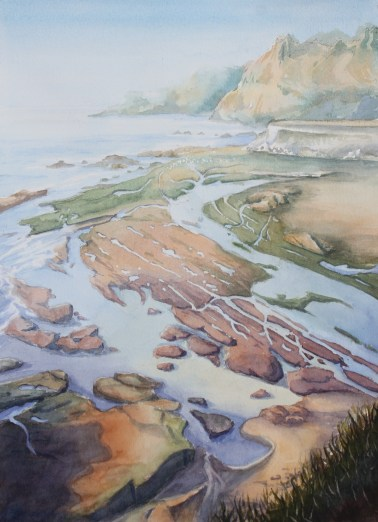 2_Low Tide_Amy Browning_20x16_Watercolor